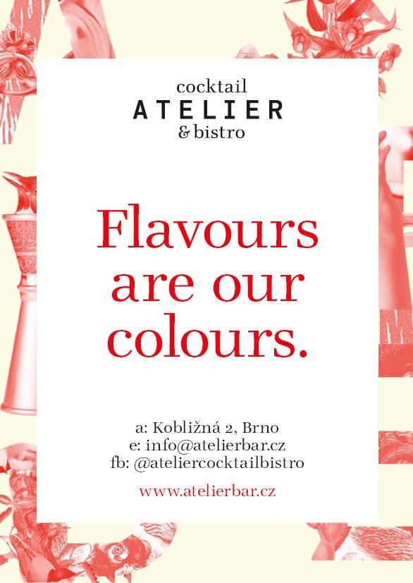 Atelier cocktail & bistro – Martin Poláček